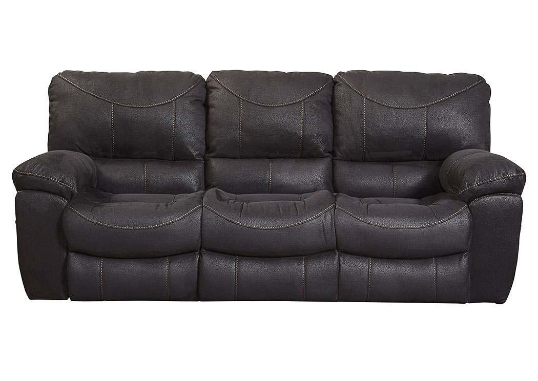 Jarons Terrance Black Power Reclining Sofa