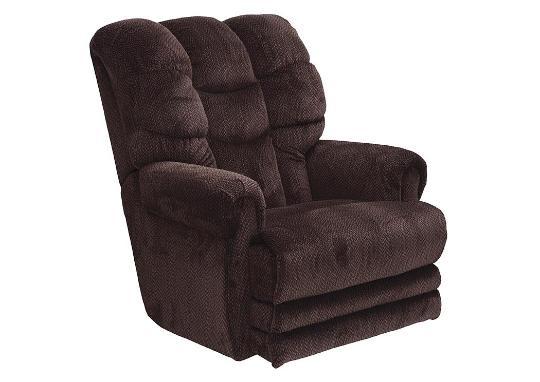 Vino Lay Flat Recliner w/ Extended Ottoman,Catnapper