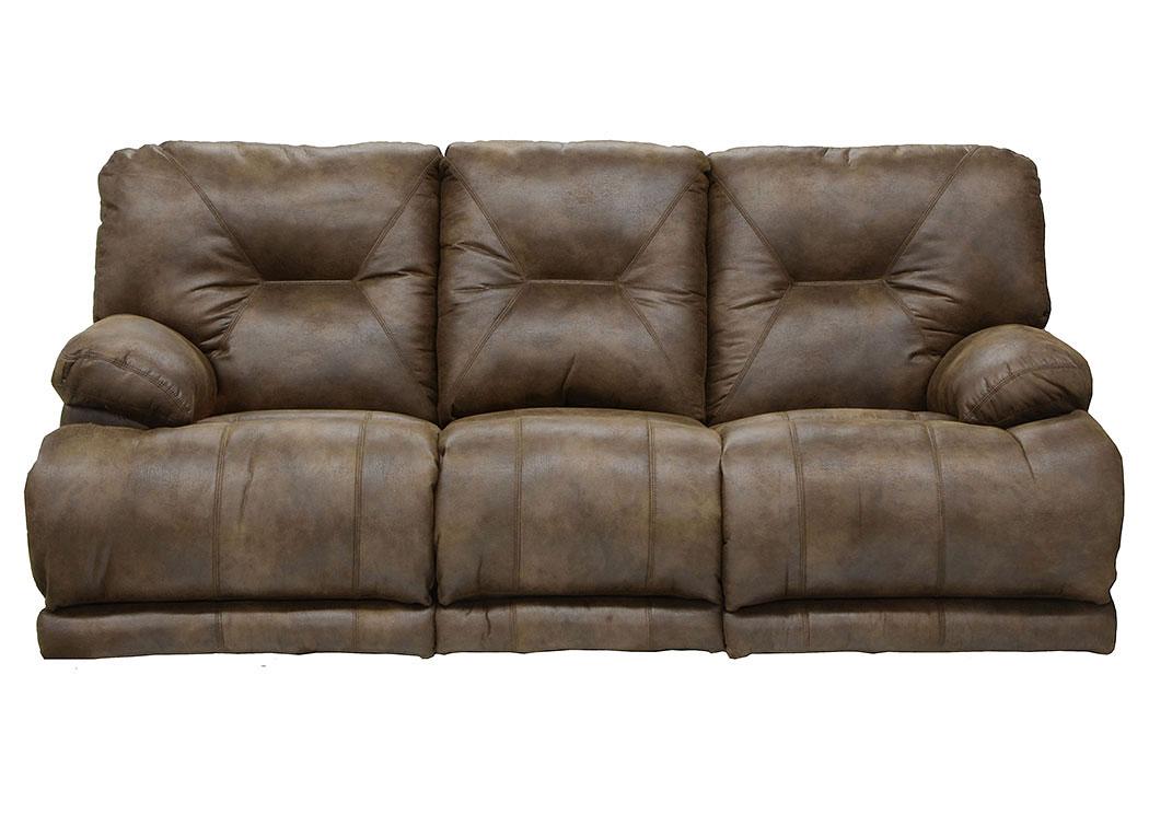 Voyager Elk Lay Flat Reclining Sofa W/3x Recliner U0026 Table,Catnapper