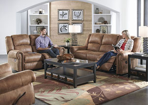 Westin Nutmeg Power Reclining Sofa & Loveseat