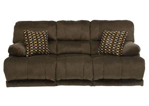 Riley Coffee/Espresso Reclining Sofa