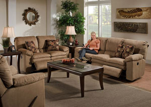 Impulse Cafe/Espresso Reclining Sofa & Loveseat