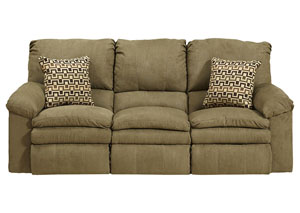 Impulse Moss/Earth Reclining Sofa