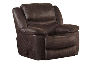 Valiant Coffee Swivel Glider Recliner