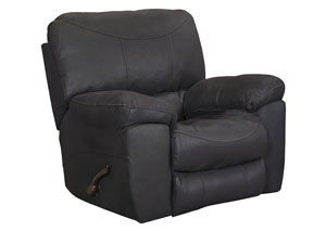 Terrance Black Rocker Recliner