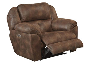 Ferrington Sunset Power Headrest Power Lay Flat Recliner