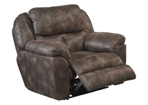 Ferrington Dusk Power Headrest Power Lay Flat Recliner