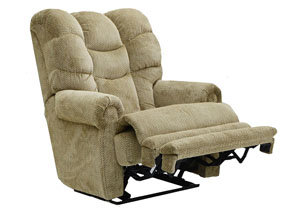 Basil Lay Flat Recliner w/ Extended Ottoman
