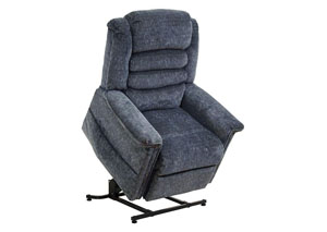 Galaxy Power Lift Full Lay-Out Chaise Recliner w/Heat & Massage