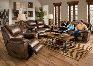 Transformer Toast Bonded Leather Ultimate Sofa W 3