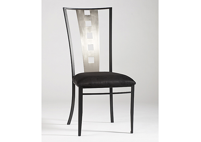 Alexis Laser Cut Back Side Chairs (Set Of 4),Chintaly Imports
