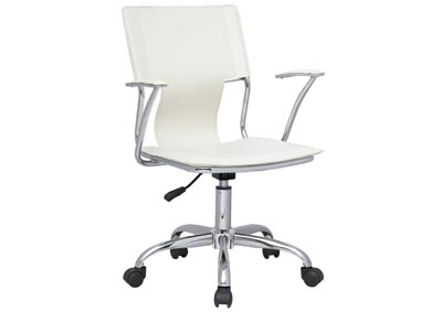 Image for Chrome Swivel Computer Chair