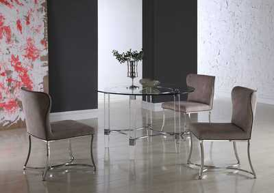 Image for Autumn Taupe 5 Piece Dining Room Set