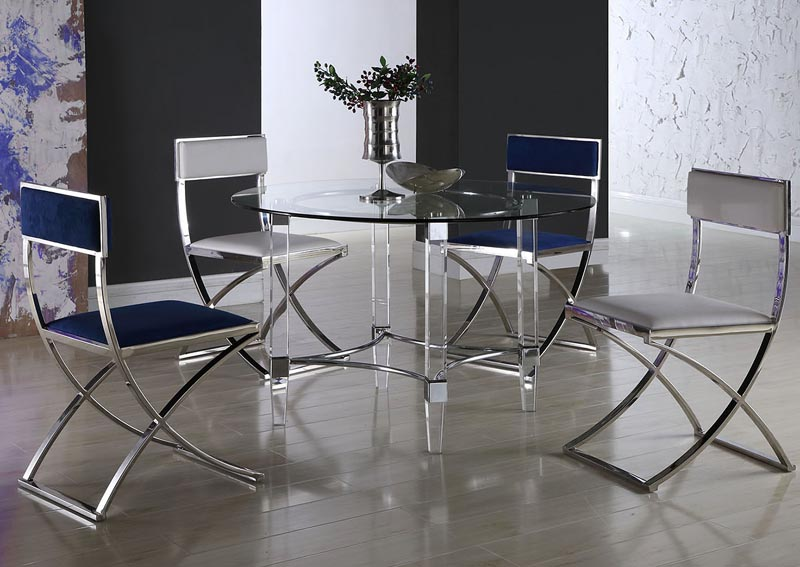 Image for Round Dining Table w/4 Madison Side Chairs