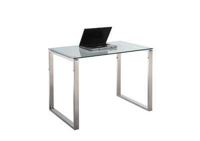 Small Steel/Glass Desk