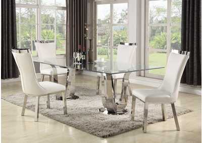 Astonishing Squan Furniture Adelle Dining Table Table Home Interior And Landscaping Synyenasavecom
