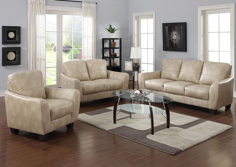 Image for Fremont Taupe 3 Piece Living Room Set