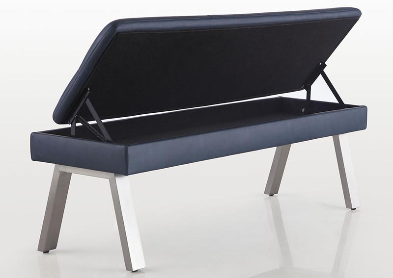 Jezebel Bench w/Underseat Storage,Chintaly Imports