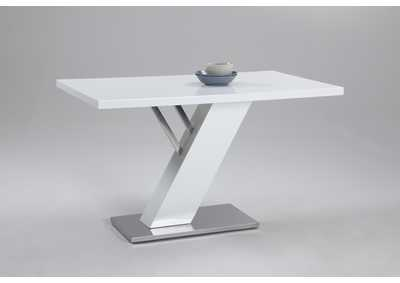 Linden White Dining Table