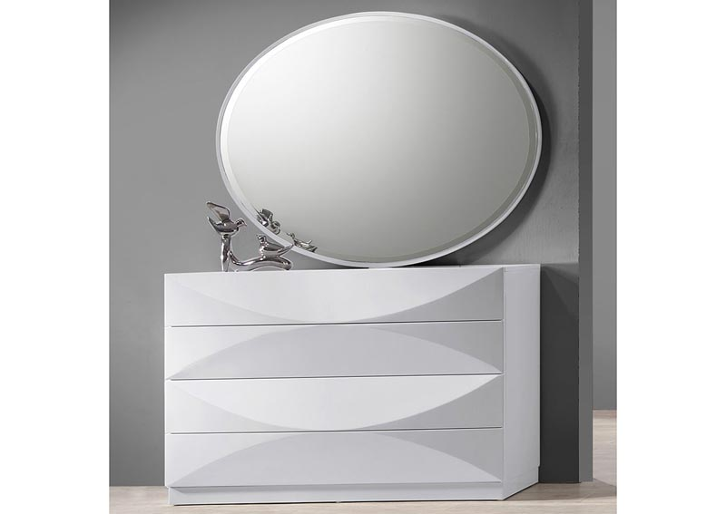 Paris Bedroom Accent Dresser w/Mirror