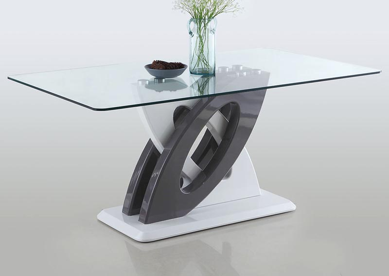 Stella Tempered Glass Dining Table