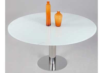 Image for Tami Starphire Glass Extendable Glass Dining Table