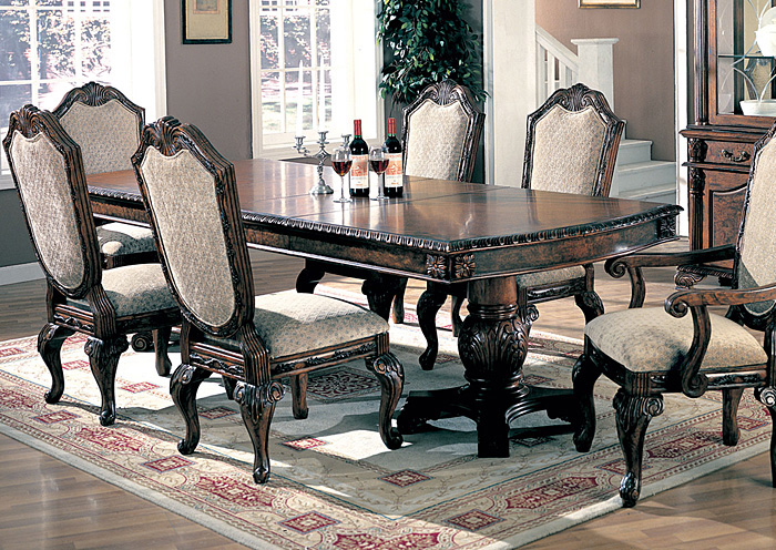 Beau Saint Charles Brown Dining Table,Coaster Furniture