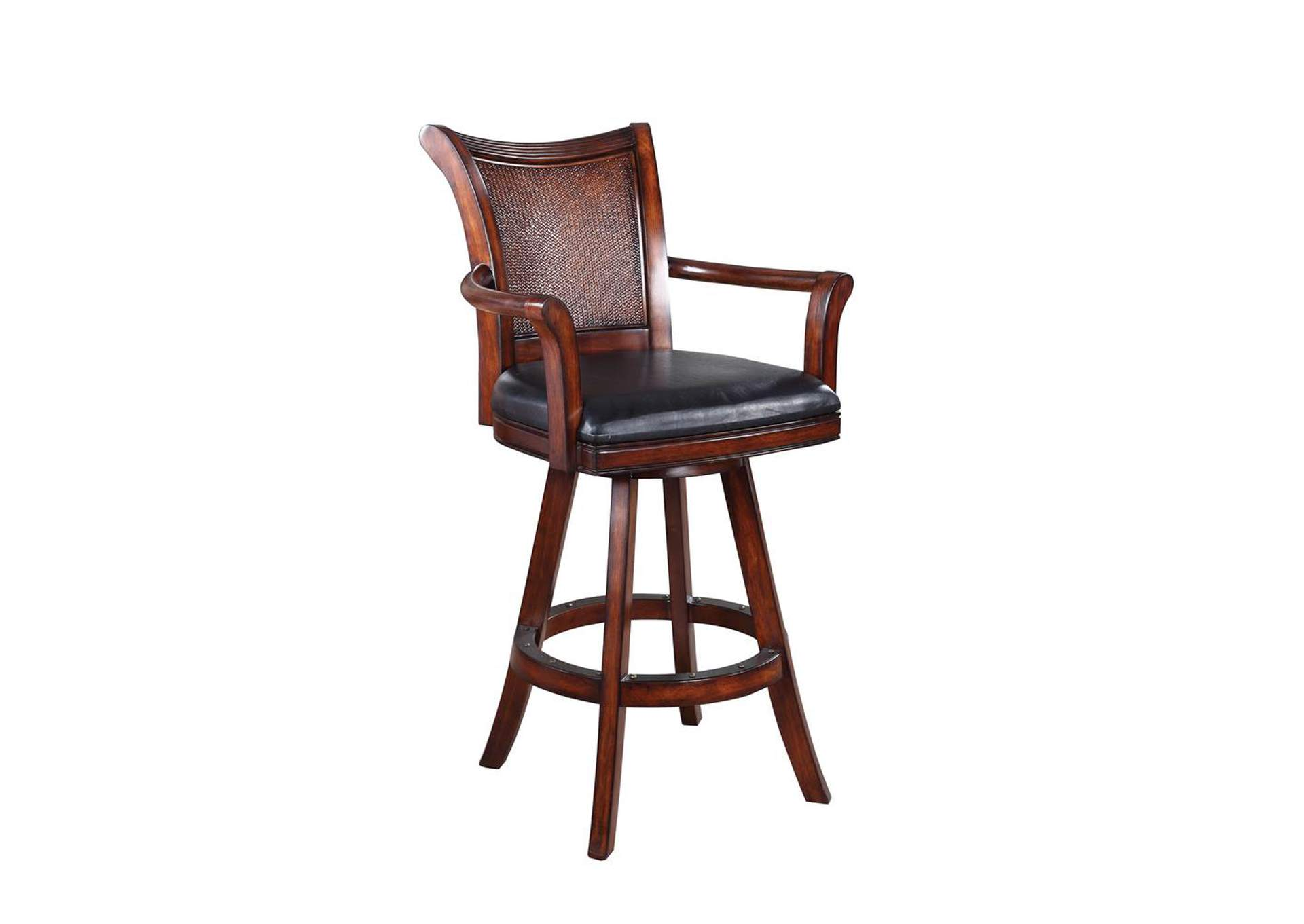 Dark Brown & Brown Bar Stool,Coaster Furniture