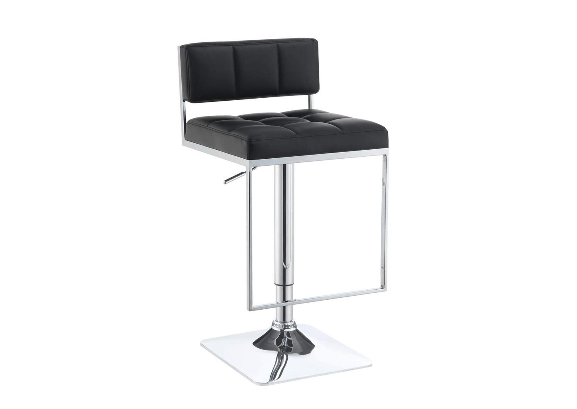 Chrome Adjustable Bar Stool,Coaster Furniture