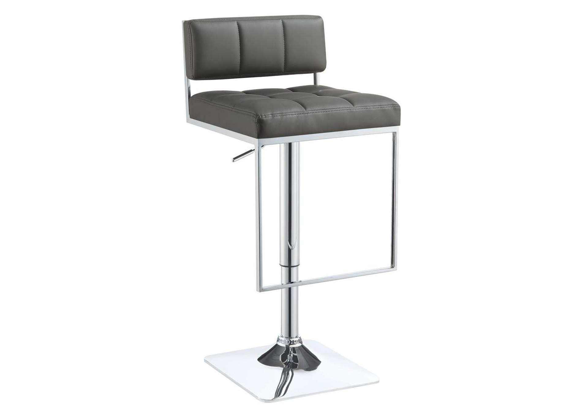 White Lilac Contemporary Grey Adjustable Bar Stool,Coaster Furniture