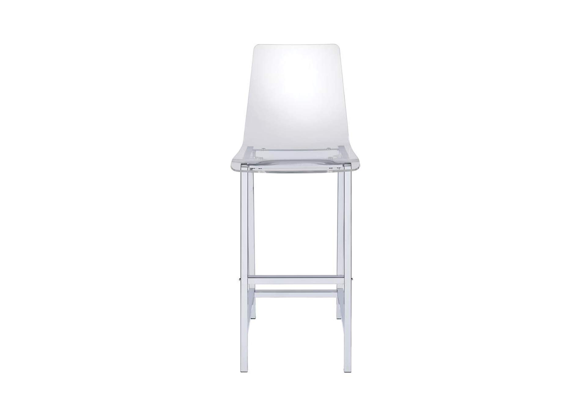 Mischka Contemporary Clear Acrylic Bar Stool,Coaster Furniture
