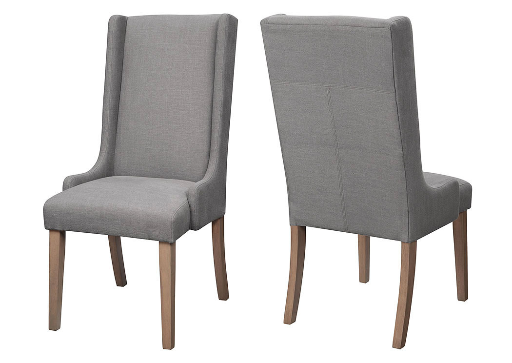 Charcoal Side Chair (Set of 2),ABF Coaster Furniture