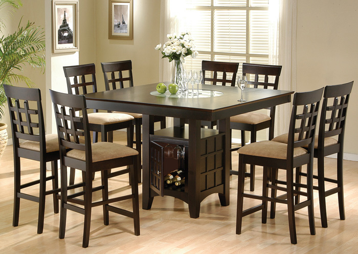 Dining Table w/4 Side Chairs,Coaster Furniture