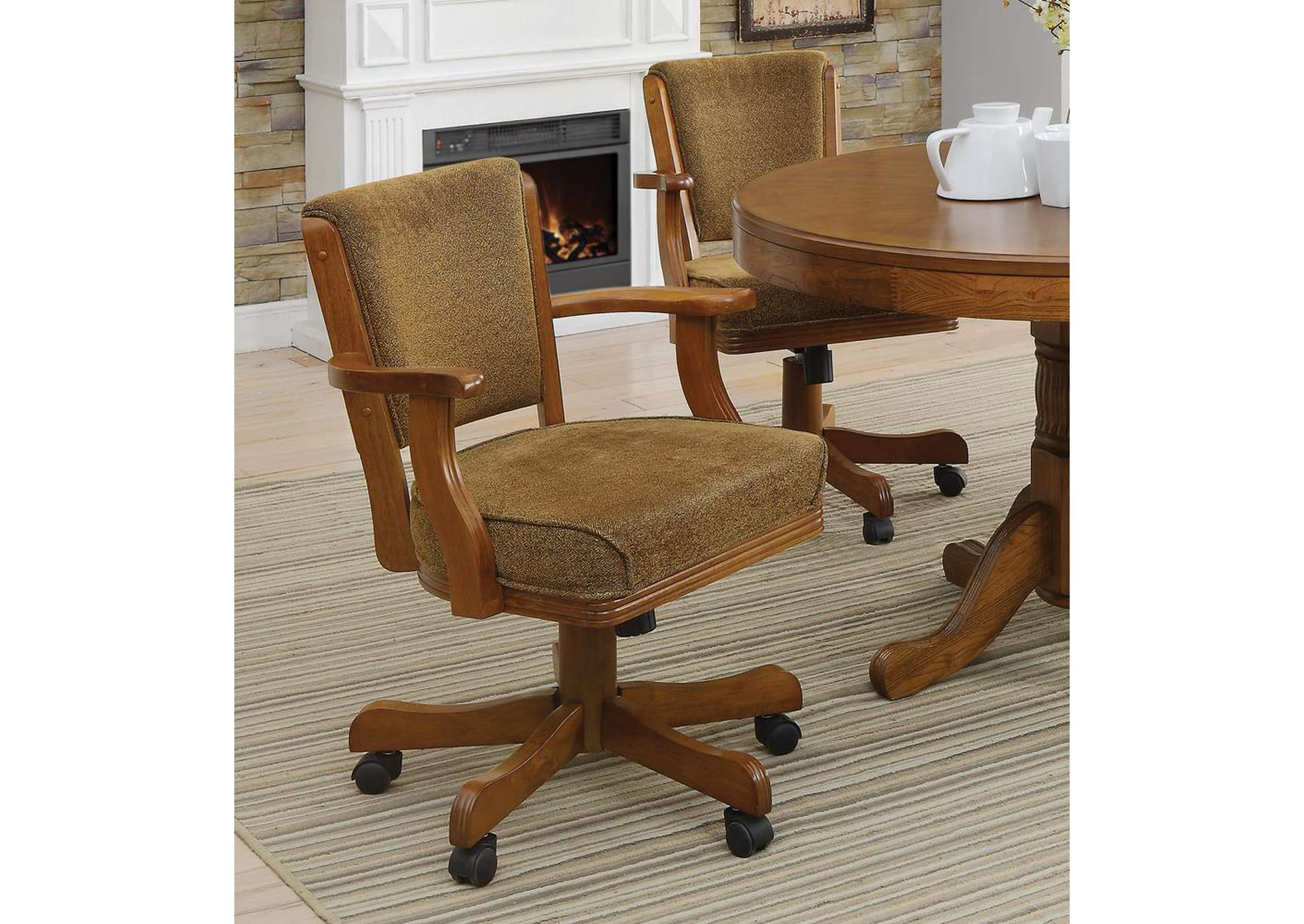 Mitchell Amber Game Chair,Coaster Furniture