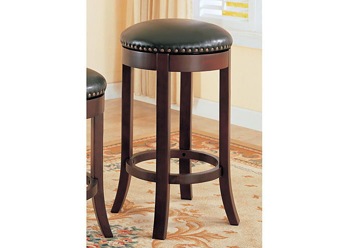 A M Discount Furniture Wooden 29in Bar Stool Set Of 2