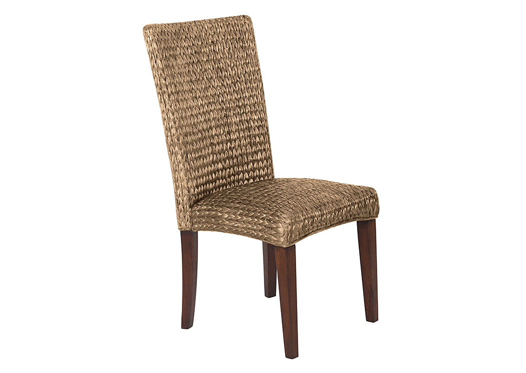 Natural Banana Leaf Side Chair (Set Of 2),Coaster Furniture