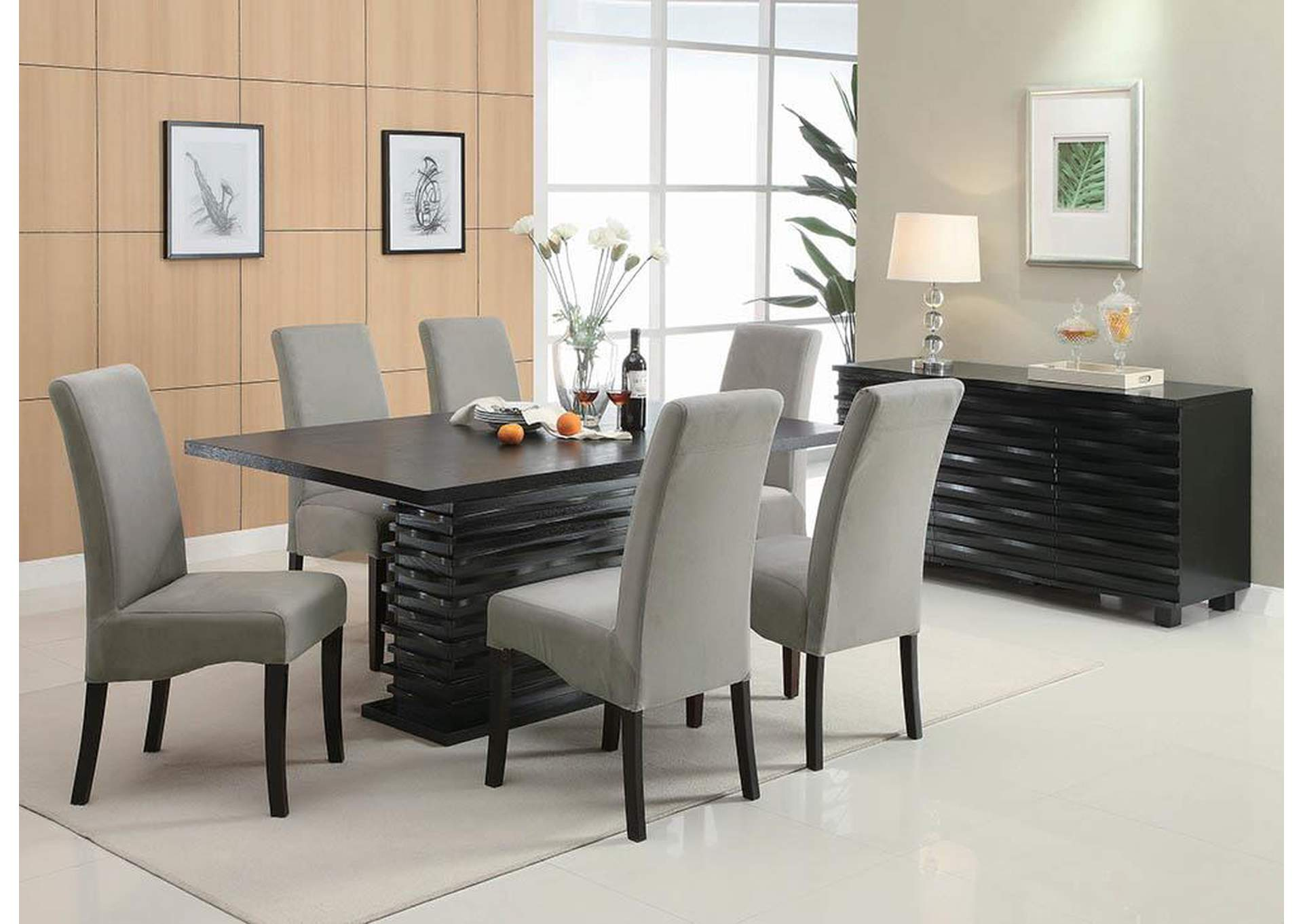Stanton Black Server,Coaster Furniture