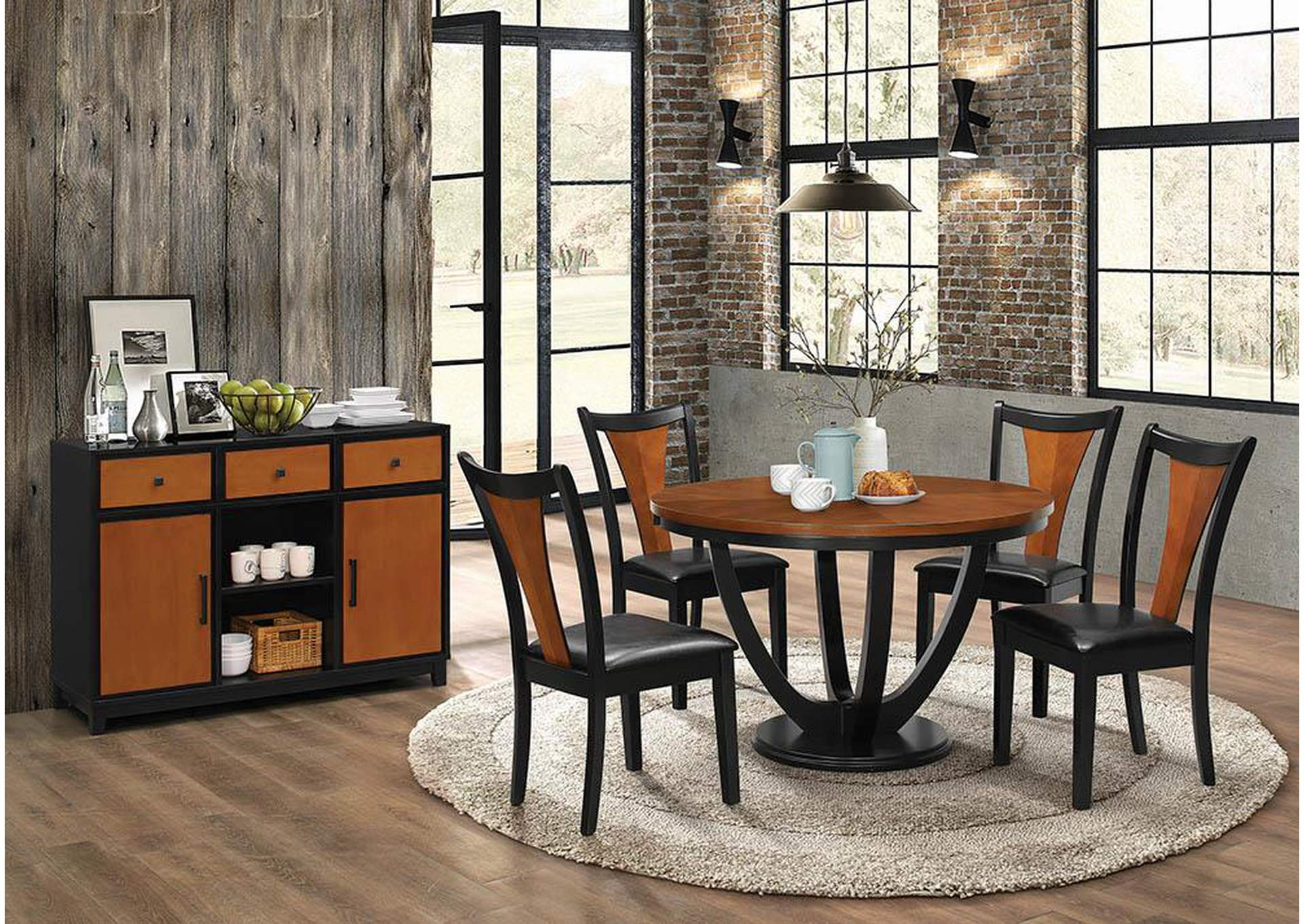 Boyer Two-Tone Dining Server,Coaster Furniture