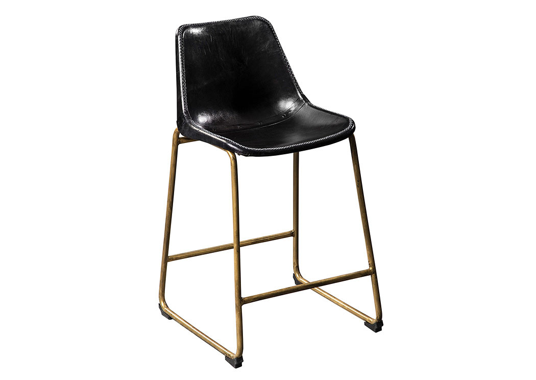 Black Counter Height Stool (Set of 2),Coaster Furniture