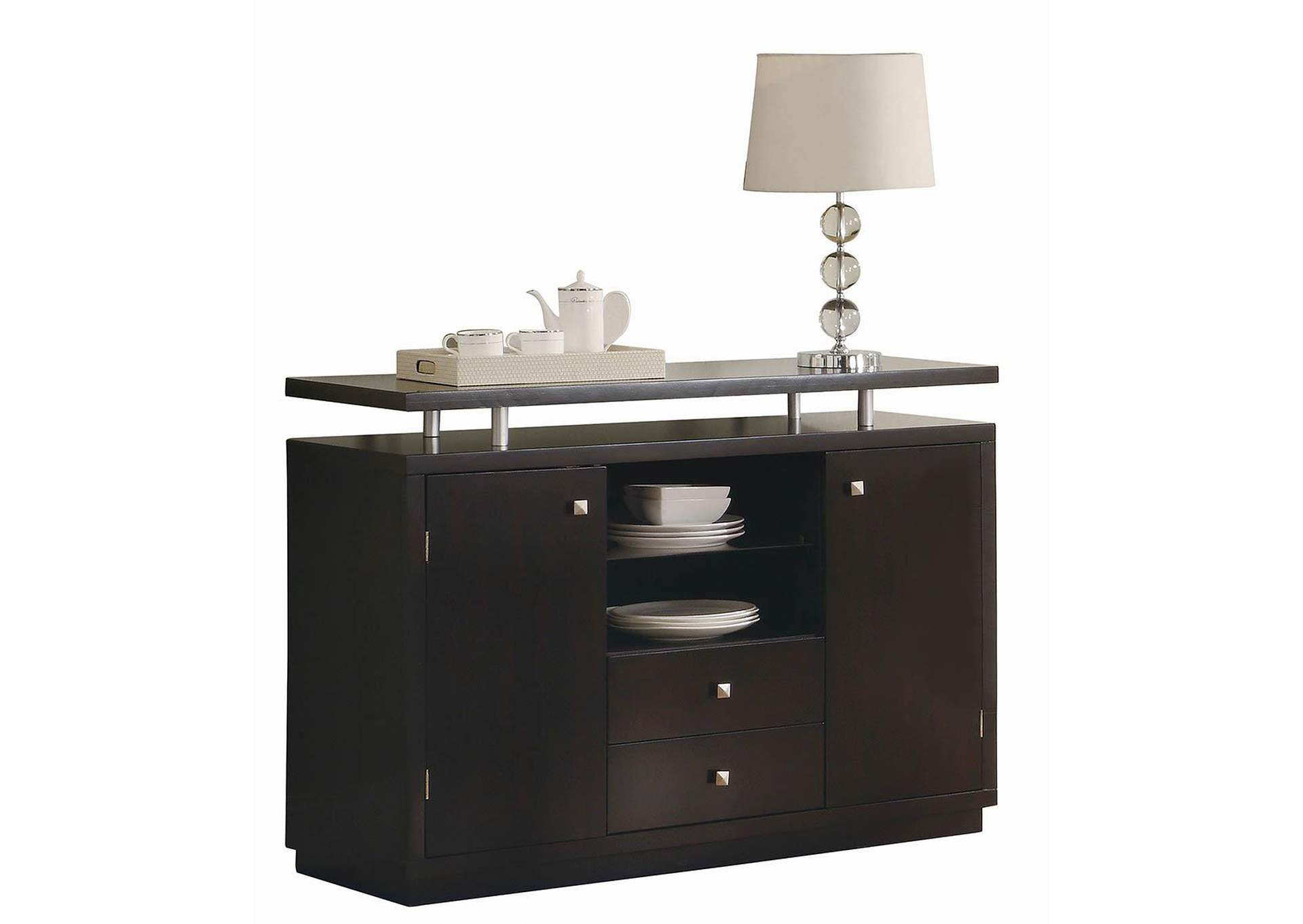 Libby Cappuccino Server,Coaster Furniture