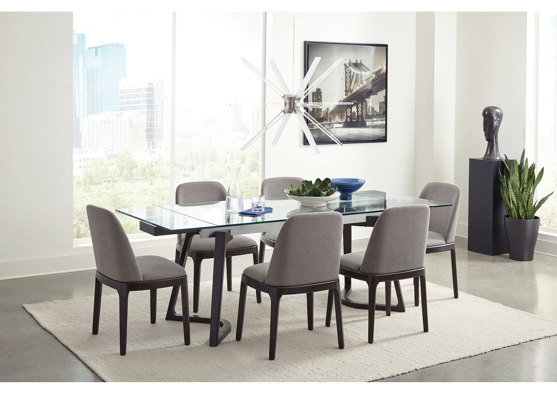 Tiara Dining Table,Coaster Furniture