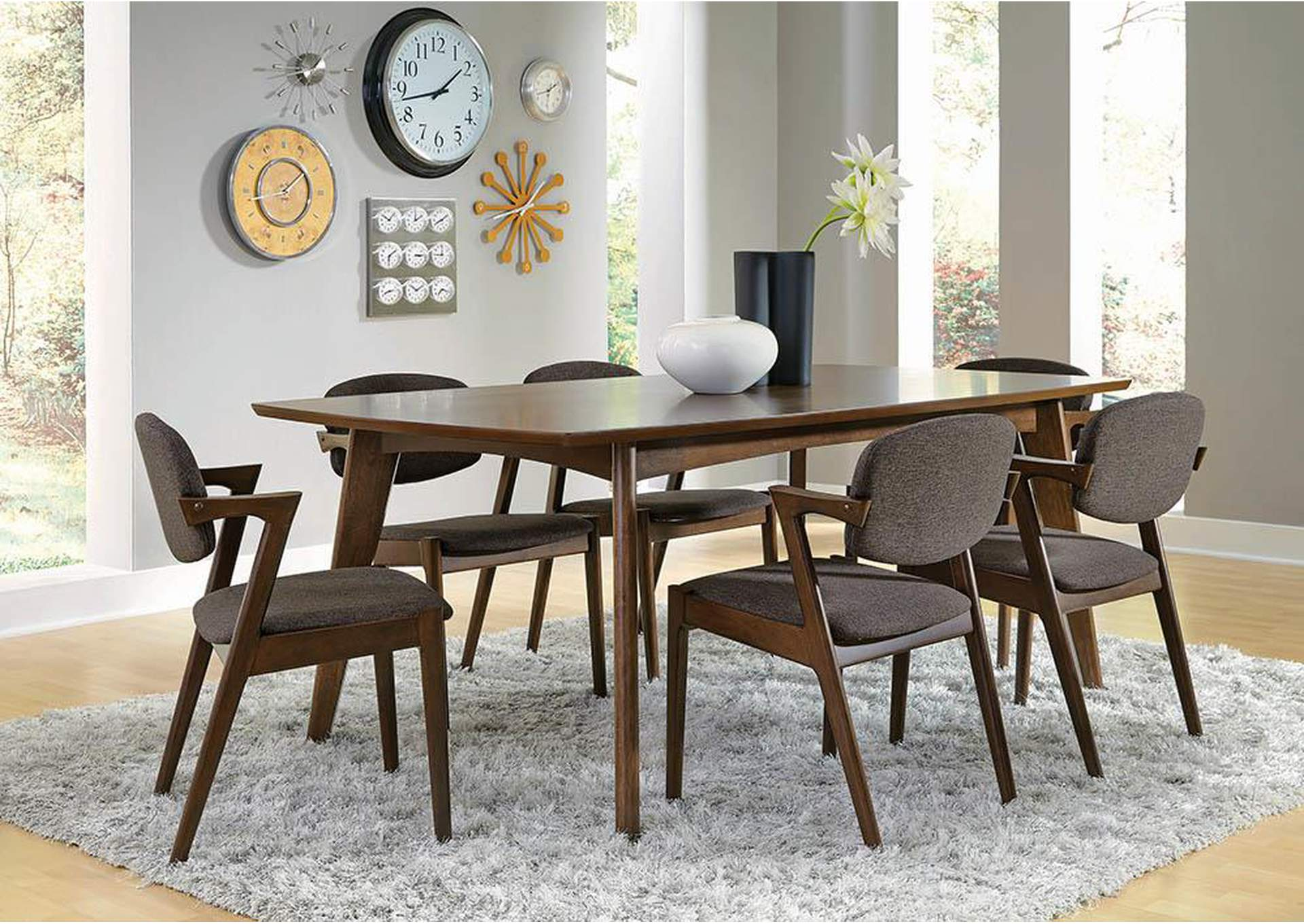 Jarons Walnut Dining Table