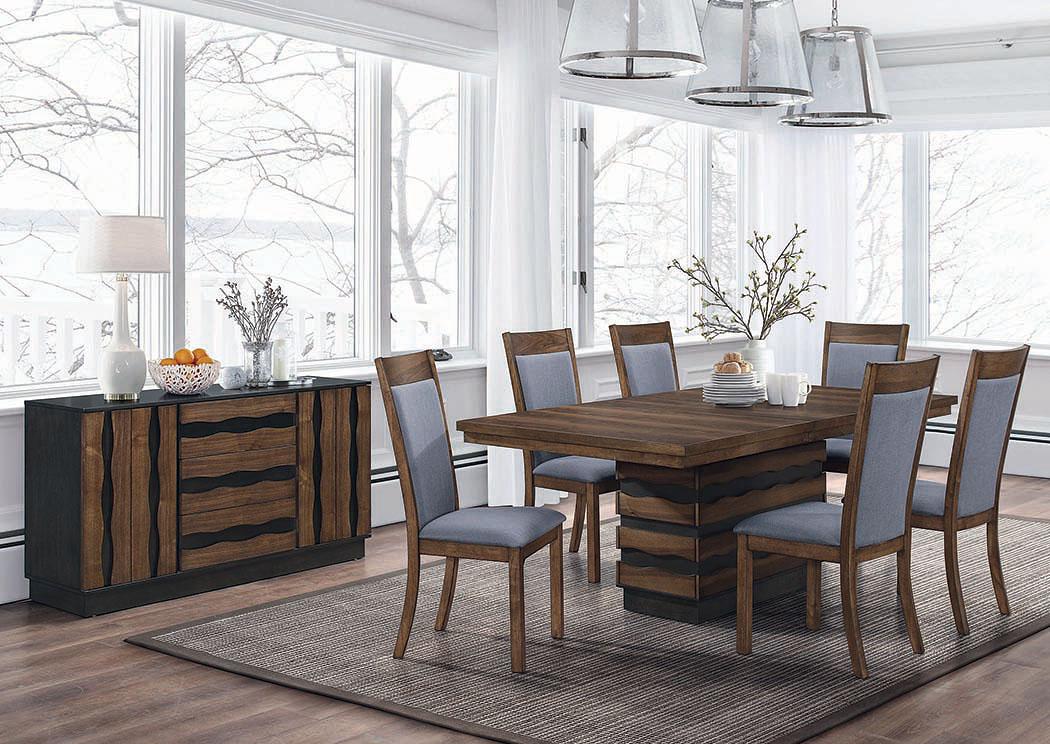 Tremendous Gorees Furniture Opelika Al Octavia Sappy Walnut Gamerscity Chair Design For Home Gamerscityorg