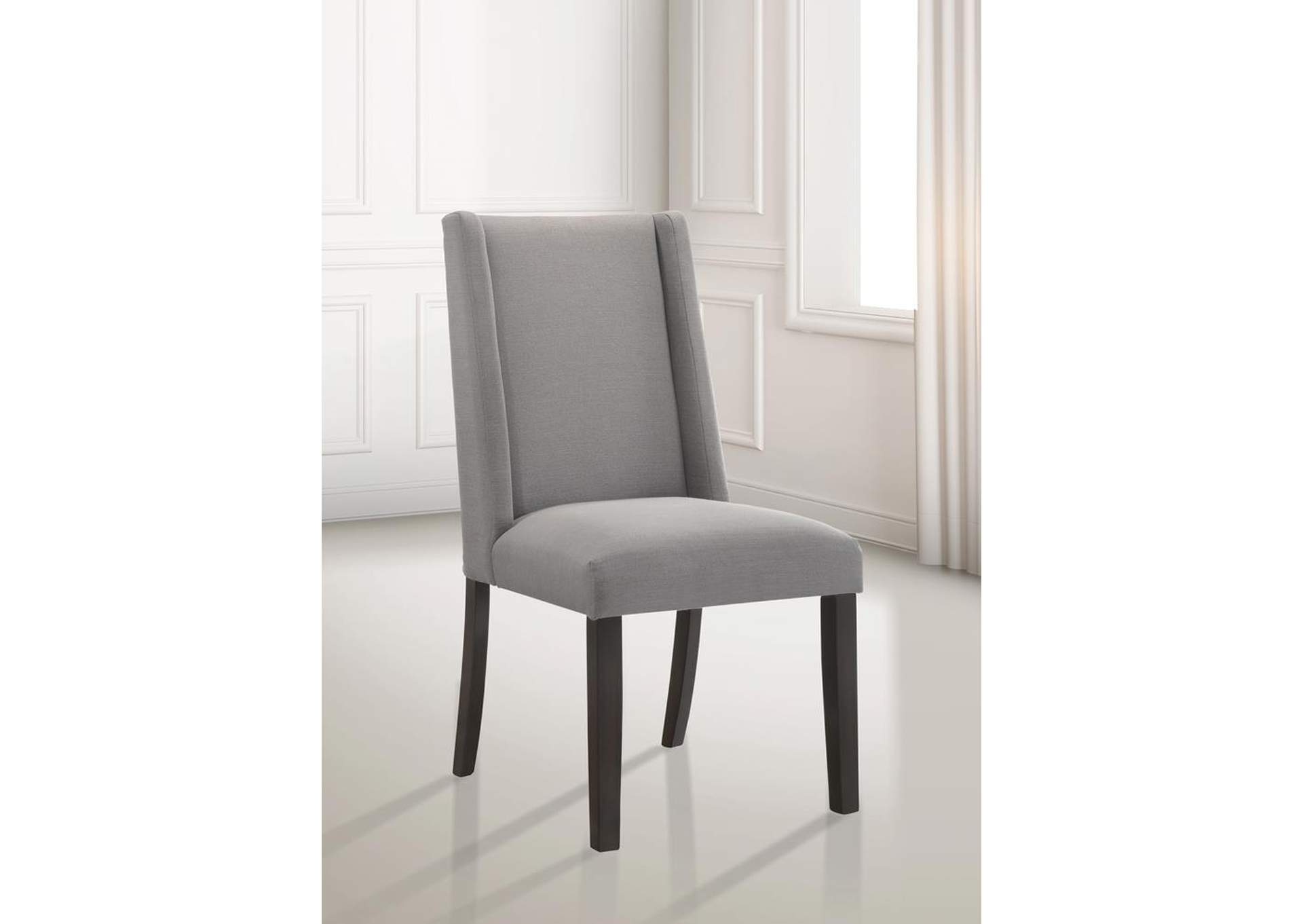 Mineral Grey Dining Chair (Set of 2),Coaster Furniture