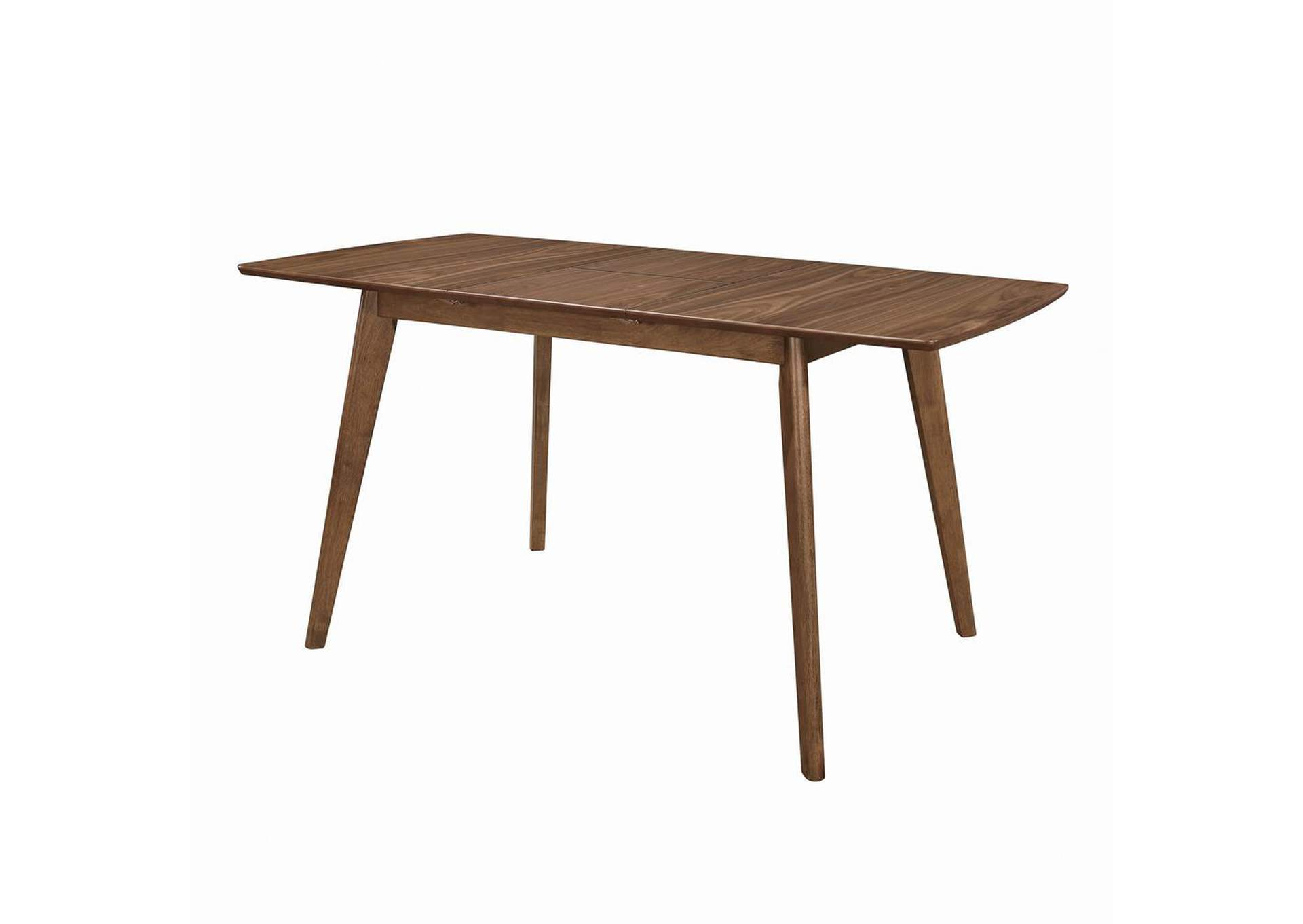 Natural Walnut Dining Table,Coaster Furniture