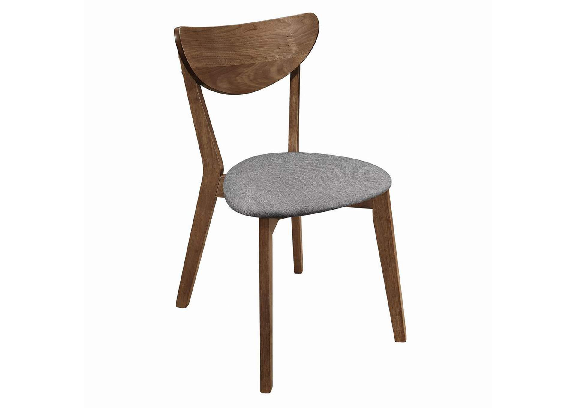 Grey & Natural Walnut Dining Chair (Set of 2),Coaster Furniture