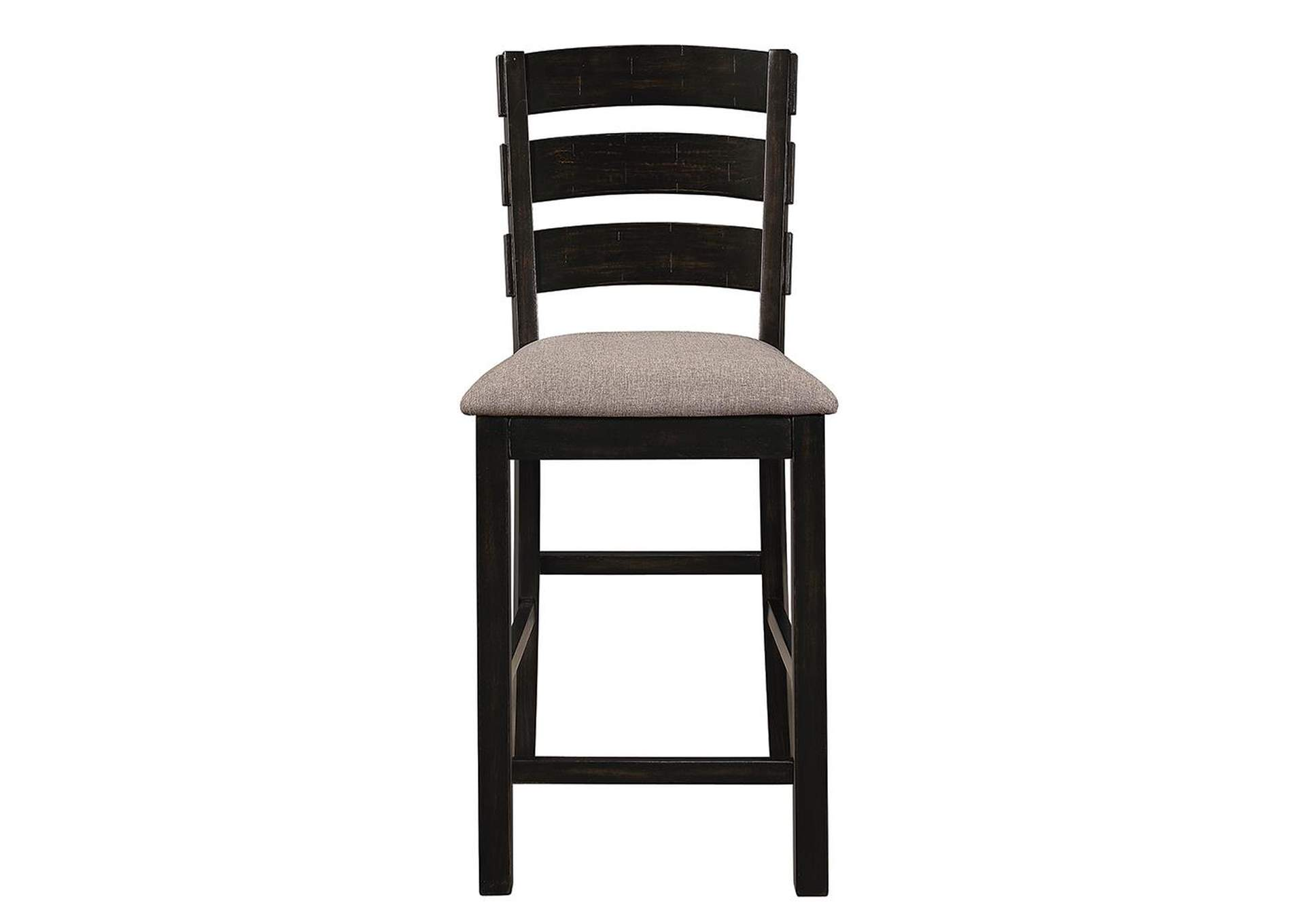 Oakley Oatmeal and Black Counter Stool (Set of 2),Coaster Furniture