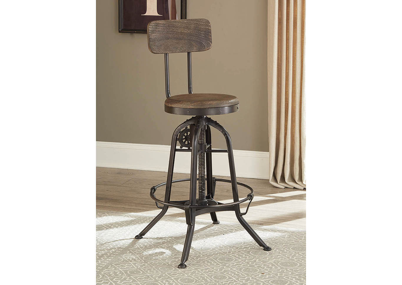 Brown Counter Height Dining Chair,Coaster Furniture