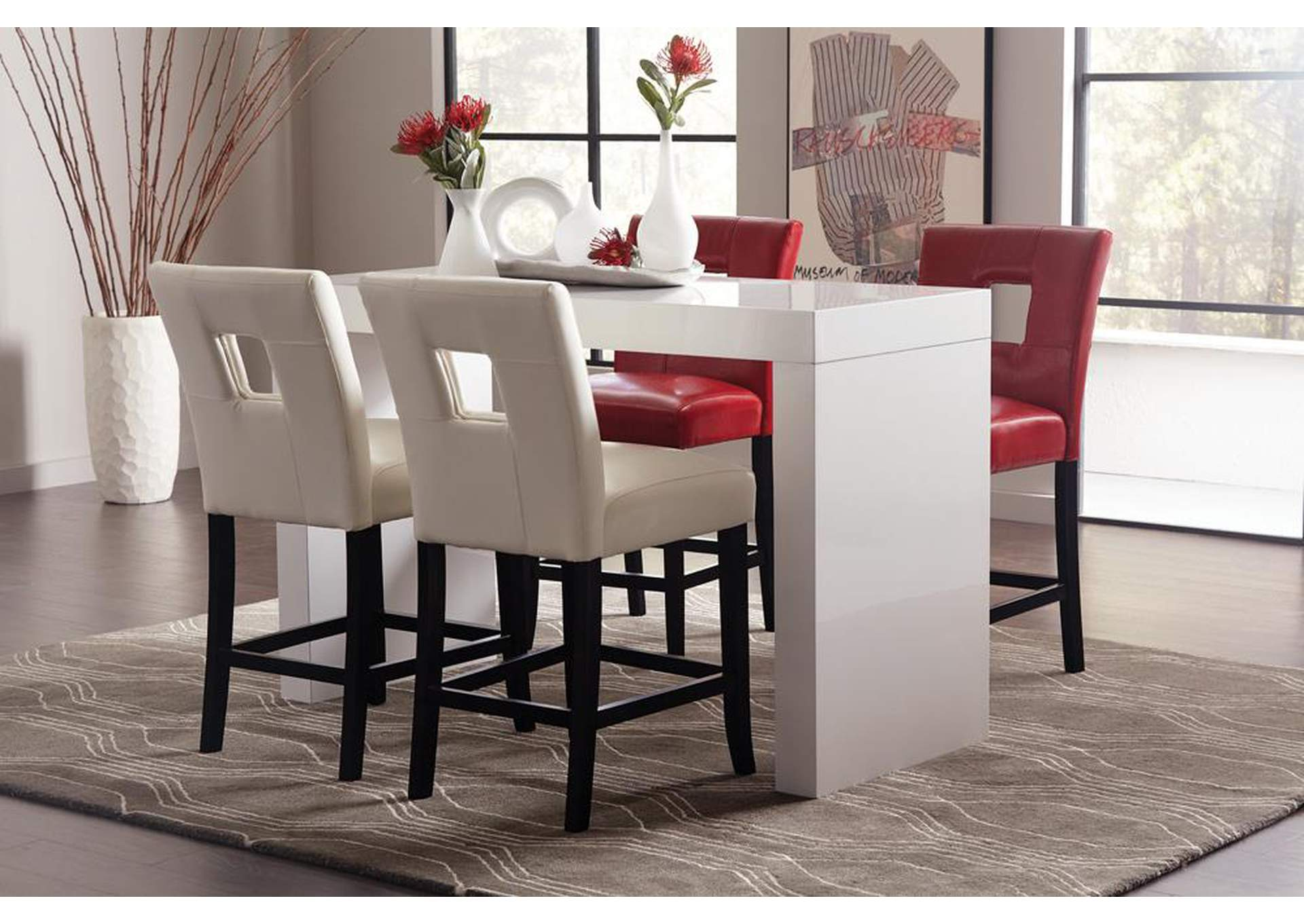 Mercury Counter Height Table,Coaster Furniture