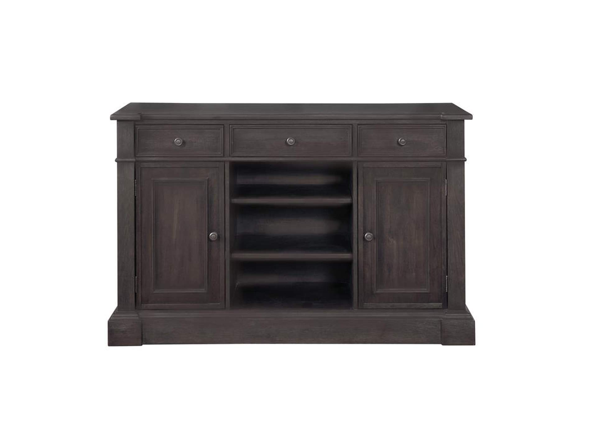 Phelps Antique Noir Server,Coaster Furniture